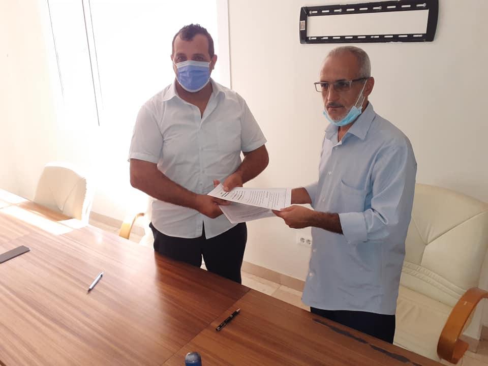 إبرام اتفاقية تعاون بين الجمعية الليبية للمكتبات والمعلومات والأرشيف ومركز تقنية المعلومات