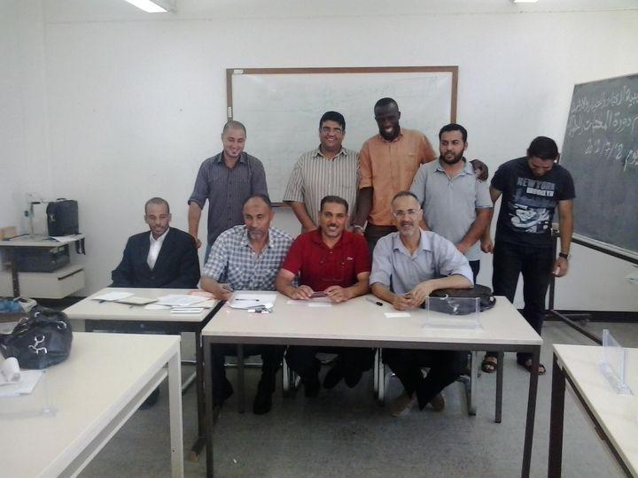 دورة تدريبية حول الإجراءات الفنية في المكتبات لأمناء المكتبات بمدينة مصراته