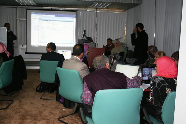 ورشة عمل حول استخدام برنامج جملا لتصميم وإدارة المحتوى على شبكة الإنترنت