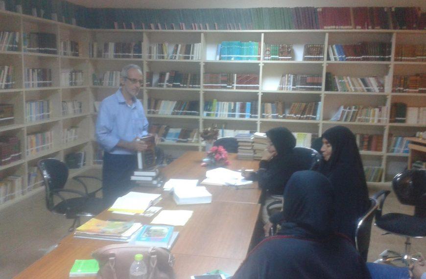 دورة إدارة المكتبات للمسئولين عن مكتبة جمعية النور للمكفوفين